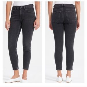 Everlane mid rise skinny jeans
